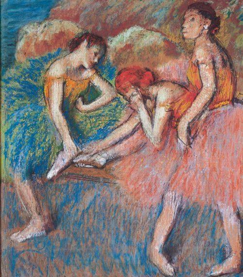 Danseuses au repos, Edgar Degas