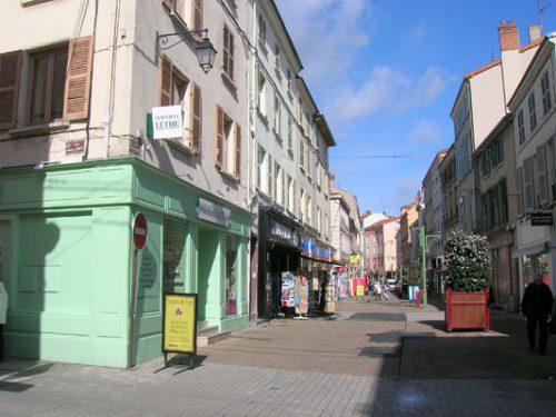 Rue piétonne Maréchal Foch, Roanne