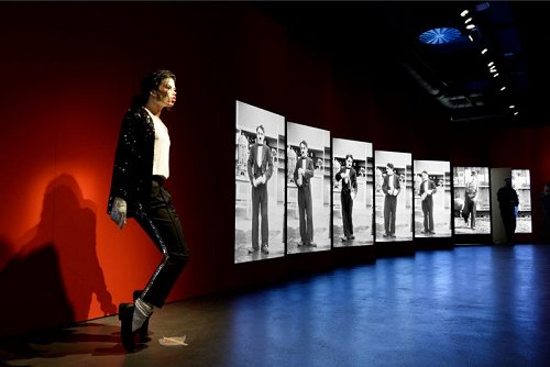 Michael Jackson au Chaplin's World